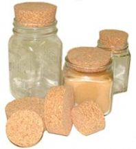 SL60 Short Length Tapered Cork Stopper (Bag of 10)